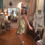 The Bride Diaries. Louise's Vintage Dressing Up