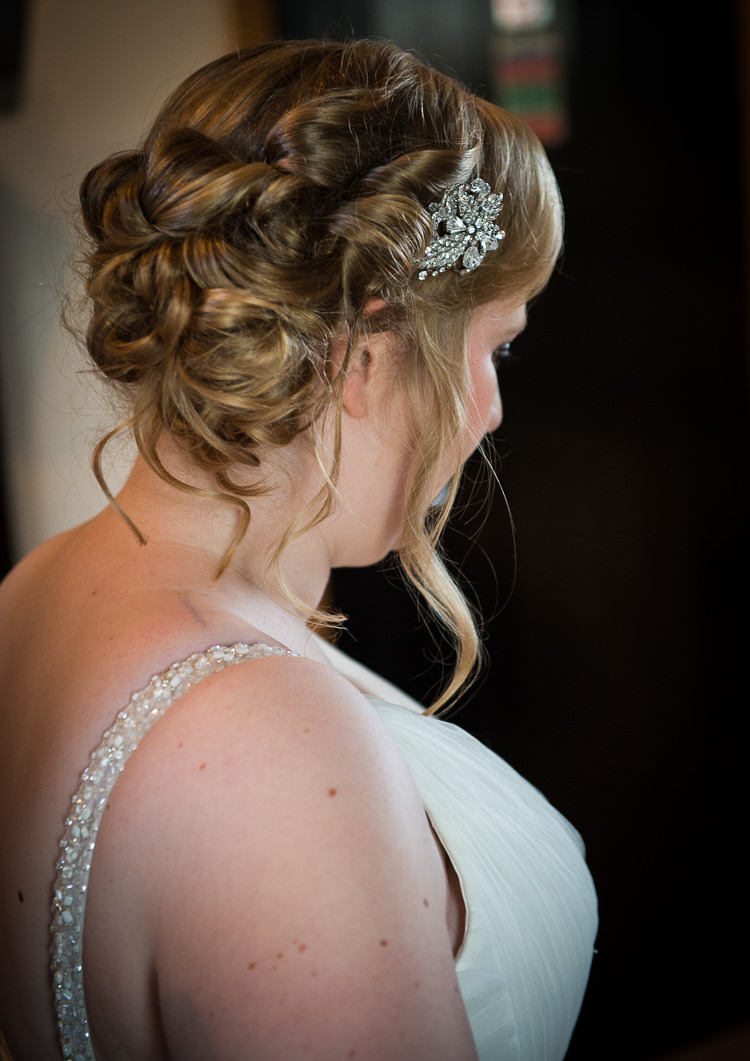 Hair Bride Bridal Style Quirky Crafty Tea Infused Wedding http://jamesgristphotography.co.uk/