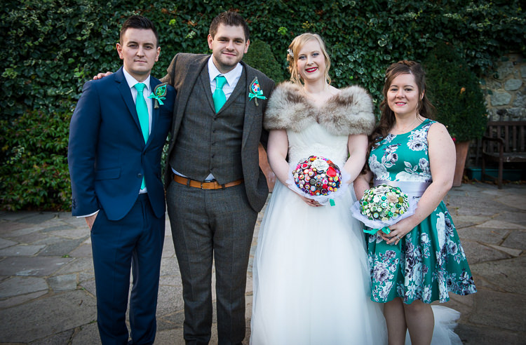Quirky Crafty Tea Infused Wedding http://jamesgristphotography.co.uk/
