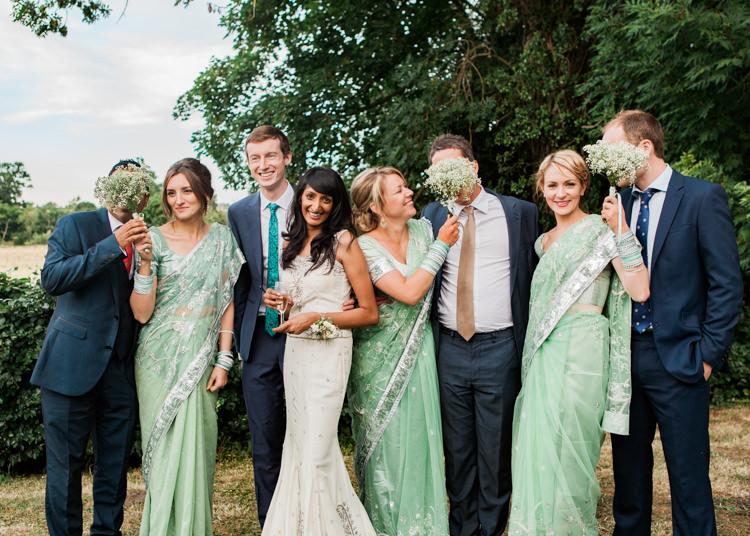 Indian Mint Garden Party Wedding http://heleddroberts.co.uk/