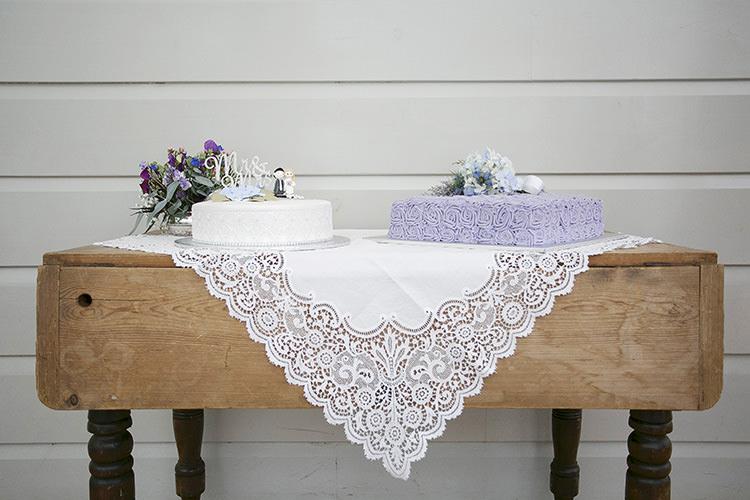 Cake Table Cloth Buttercream Cakes Cornflower Blue Garden Wedding Australia http://brischetto.net/
