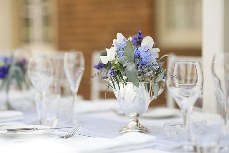 Cornflower Blue Garden Wedding In Australia Whimsical