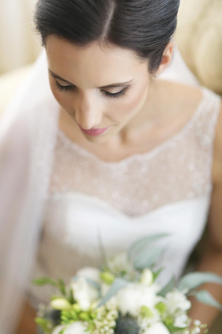 Soft Natural Pretty Make Up Bride Bridal Cornflower Blue Garden Wedding Australia http://brischetto.net/