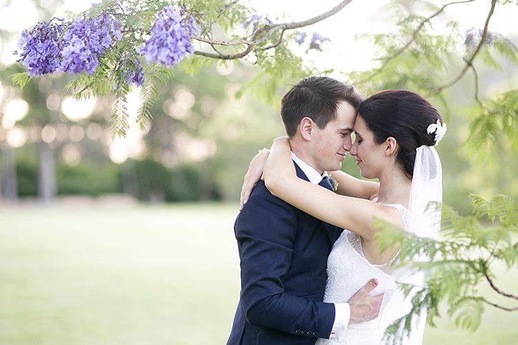 Cornflower Blue Garden Wedding Australia http://brischetto.net/
