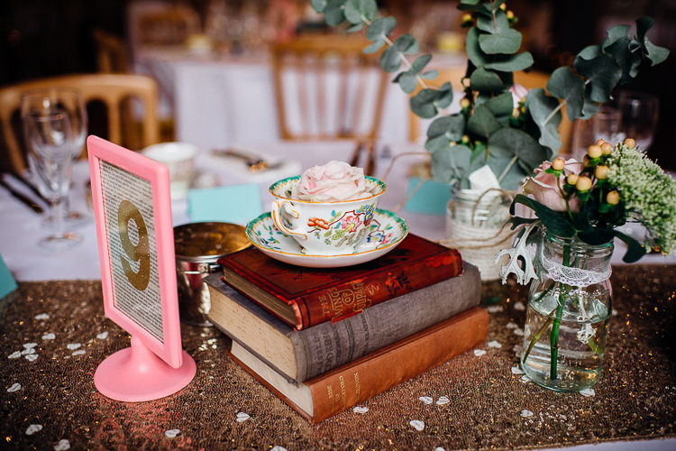 Books & History Sparkly Pastels Wedding http://www.mariannechua.com/
