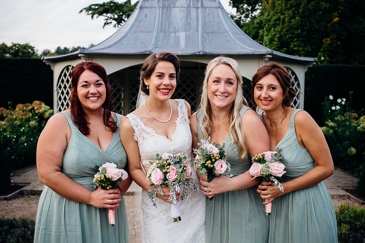 Sage Green Bridesmaid Dresses Books & History Sparkly Pastels Wedding http://www.mariannechua.com/