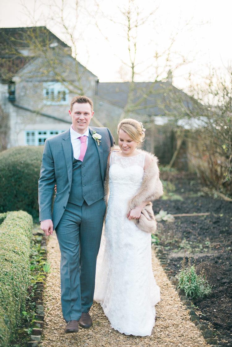 Soft Pink Rustic Winter Wedding | Whimsical Wonderland Weddings