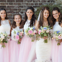 Romantic Candy Pink Pastels Wedding http://kerryannduffy.com/