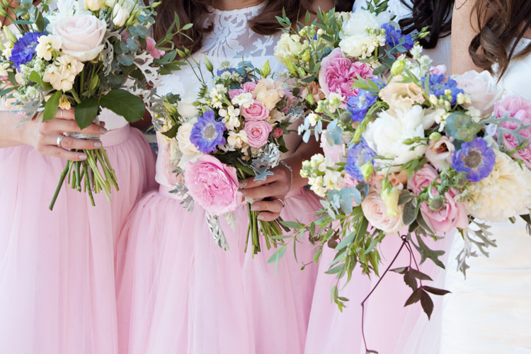Pastel wedding colours ideas and inspiration for a pastel colour httppassionforflowerswp contentuploads201409bridesmiads bouquets pink blue green hydranges rosesg mightylinksfo
