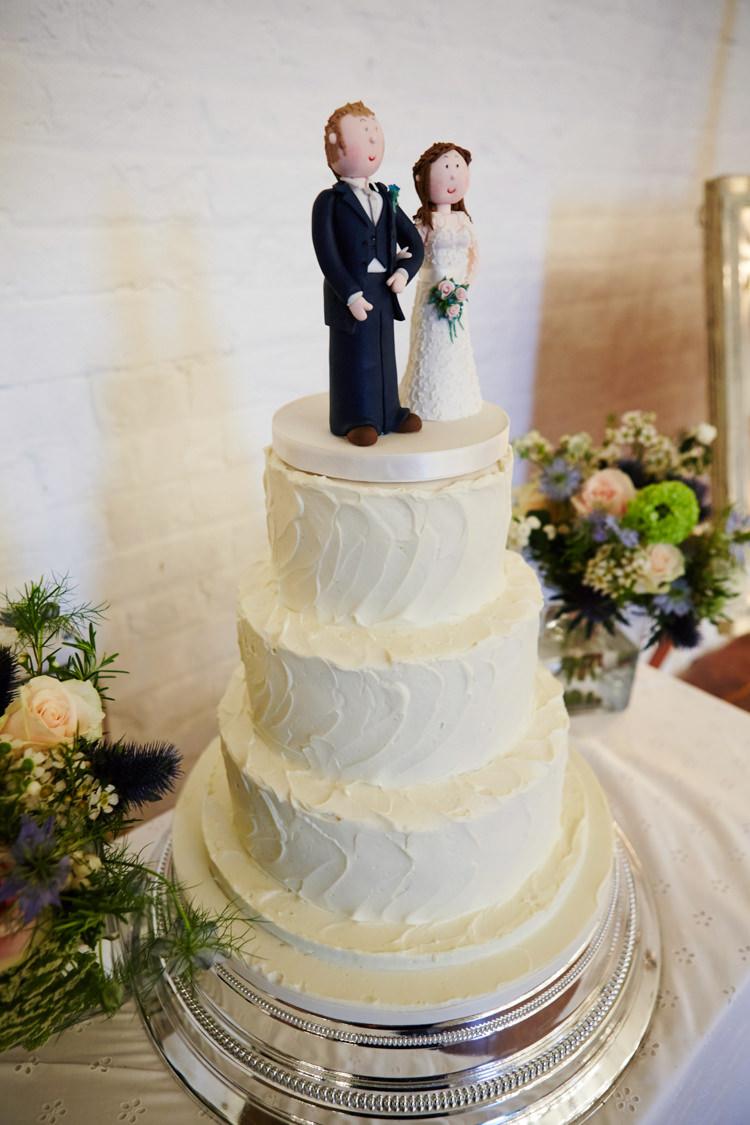Buttercream Cake Industrial Country Rustic Wedding https://www.fullerphotographyweddings.co.uk/