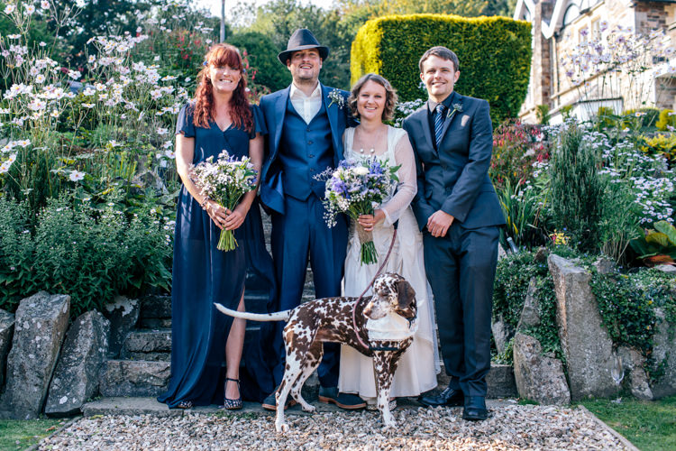 Vintage Homely Outdoor Wedding http://heartfulloftea.com/
