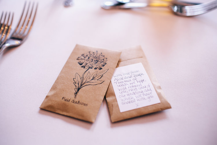Seed Favours Vintage Homely Outdoor Wedding http://heartfulloftea.com/