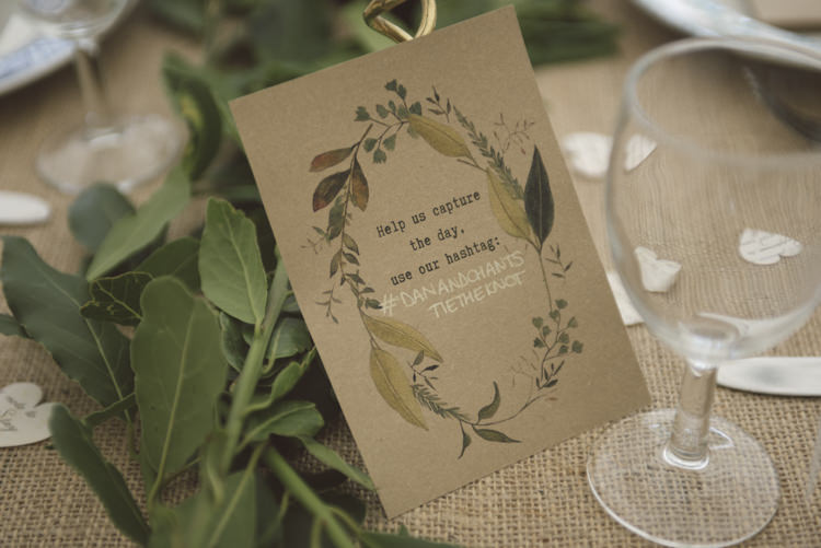 Kraft Brown Paper Stationery Sign Quirky DIY House Party Wedding http://www.petecranston.com/