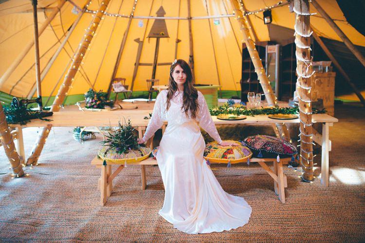 Natural Festival Tipi Wedding Ideas http://www.katemccarthyphotography.co.uk/