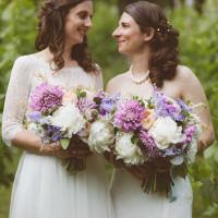 Romantic Rustic Pastel Vineyard Wedding Massachusetts http://www.wonder-bliss.com/