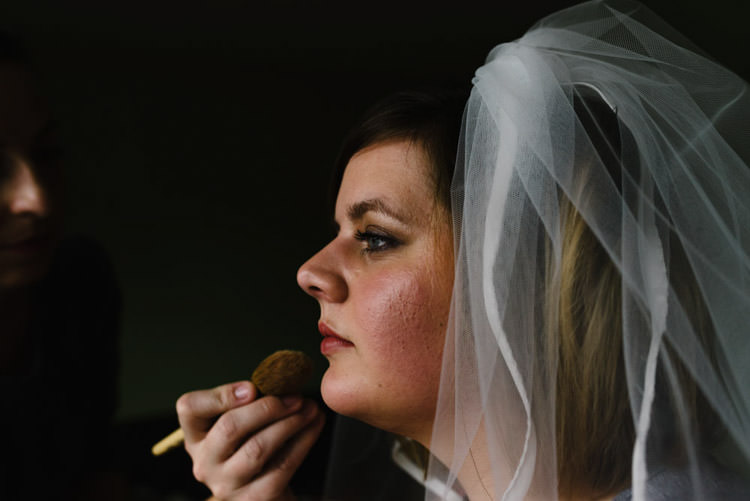 Make Up Bride Bridal Vintage Country Fete Farm Wedding http://carolinehancox.co.uk/