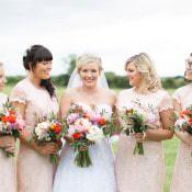 Whimsical Family Farm Festival Wedding