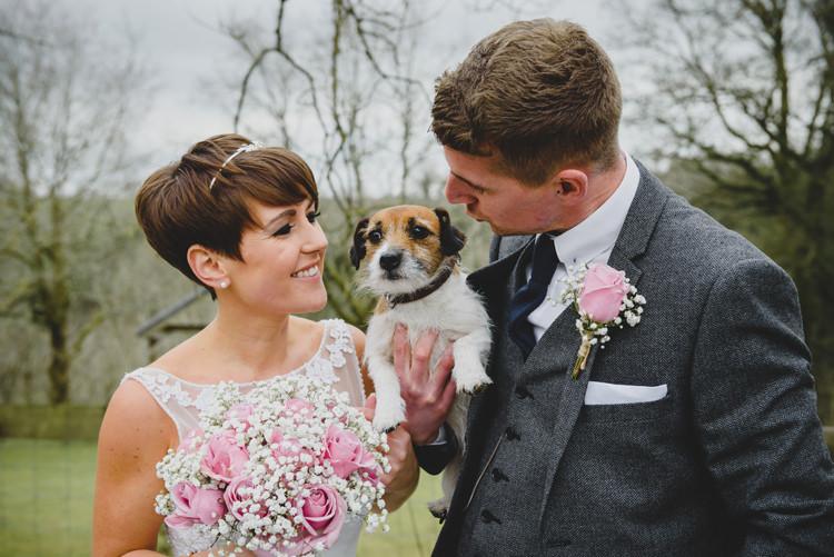 Dusky Pink Lace Fairy Lights Wedding http://www.abiriley.co.uk/