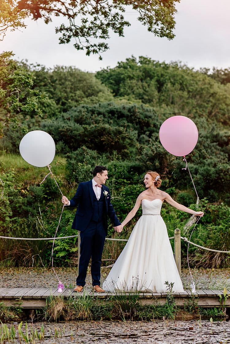 Balloons Romantic Pretty Pink Wedding http://marcsmithphotography.com/
