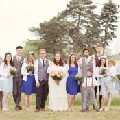 Mismatched Fairground Woodland Wedding