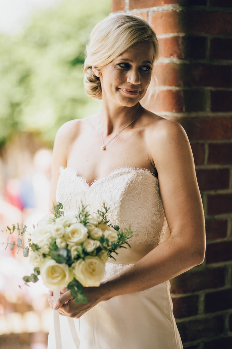 Beautiful Bride Hair Make Up Summertime Pastel English Country Garden Wedding http://alipaul.com/