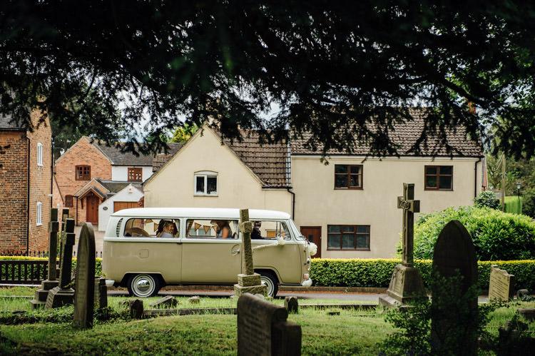 VW Camper Van Natural Mismatched Home Made Wedding http://www.mattbrownphotography.co.uk/
