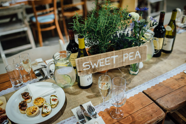 Potted Plants Table Names Wooden Rustic Decor Furniture Natural Mismatched Home Made Wedding http://www.mattbrownphotography.co.uk/