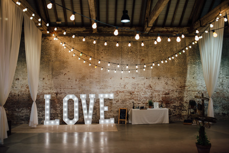 Festoon LOVE Lights Natural Mismatched Home Made Wedding http://www.mattbrownphotography.co.uk/