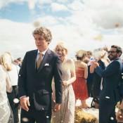 Fun Loving Festival Country Outdoor Wedding