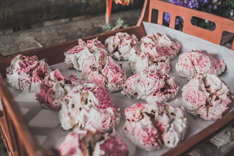 Meringue Dessert Natural Beautiful Autumn Outdoor Wedding http://www.johnelphinstonestirling.com/