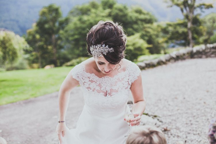Bride Brial Hair Comb Band Style Natural Beautiful Autumn Outdoor Wedding http://www.johnelphinstonestirling.com/