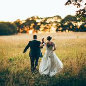 Festival Style Teal Rustic Barn Wedding