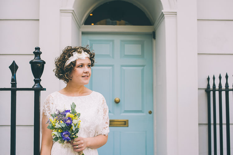 Colourful Low Key London Wedding | Whimsical Wonderland Weddings