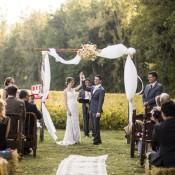 Autumn Country Farm Barn Wedding in Ohio