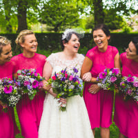 DIY Pink Gold Quirky Wedding http://photography34.co.uk/