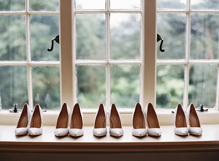 Shoes Bridesmaids Pretty Floral Wonderland DIY Wedding http://www.victoriaphippsphotography.co.uk/