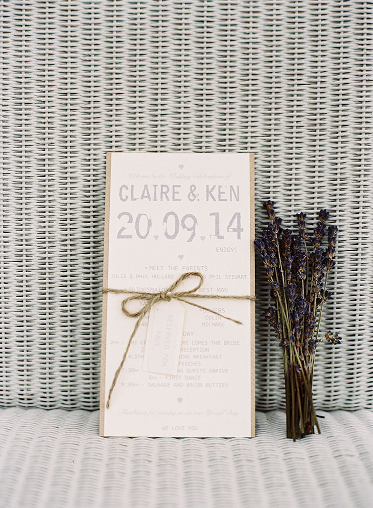 Stationery Invitations Twine Rustic Pretty Floral Wonderland DIY Wedding http://www.victoriaphippsphotography.co.uk/