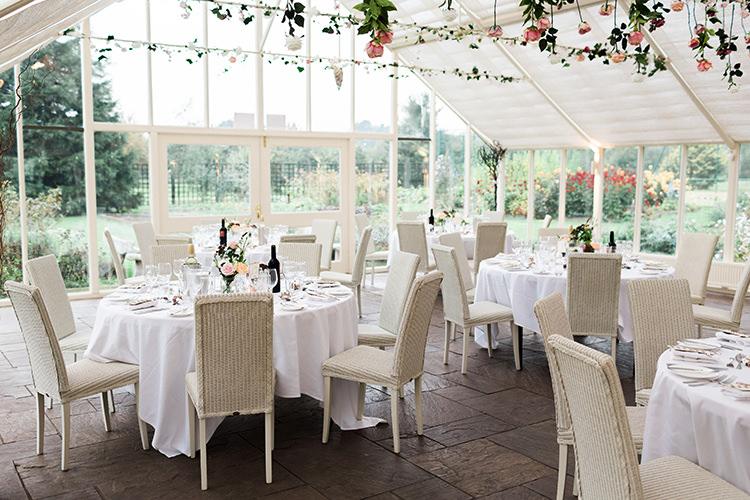 Abbeywood Estate Glass House Pretty Floral Wonderland DIY Wedding http://www.victoriaphippsphotography.co.uk/