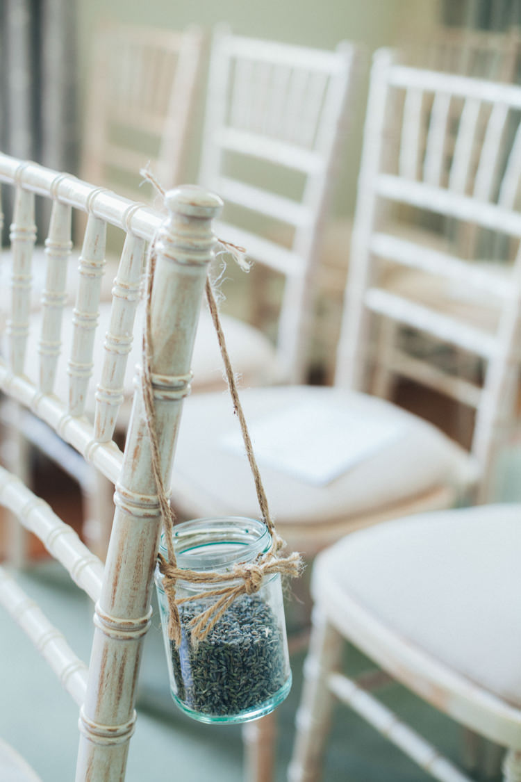 Lavender Seed Jars Pew End Chair Ceremont Aisle Ethereal Forest Eclectic Fairytale Wedding http://www.caseyavenue.co.uk/