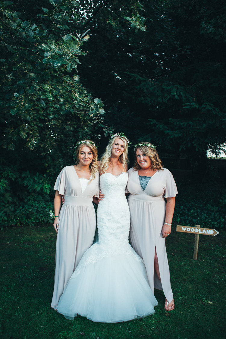 Long ASOS Bridesmaid Dresses Ethereal Forest Eclectic Fairytale Wedding http://www.caseyavenue.co.uk/