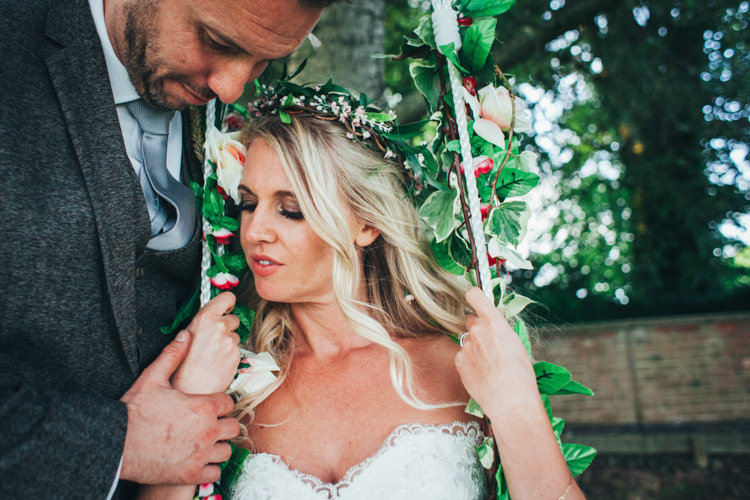 Flower Crown Bride Ethereal Forest Eclectic Fairytale Wedding http://www.caseyavenue.co.uk/