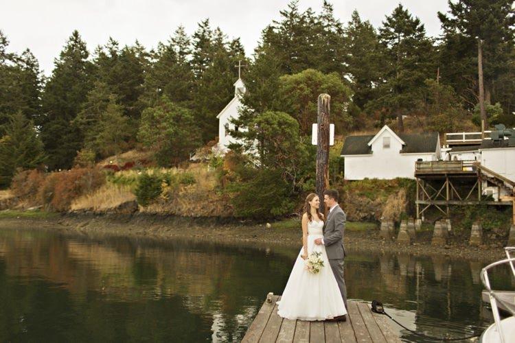 Elegant & Classic Outdoor Wedding In Washington