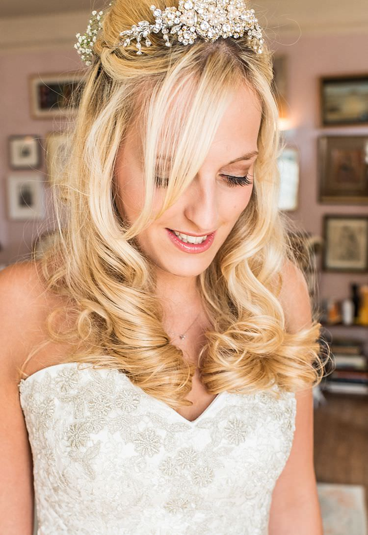 Hair Bride Bridal Classic Traditional Outdoor Festival Summer Wedding http://lighteningphotography.co.uk/