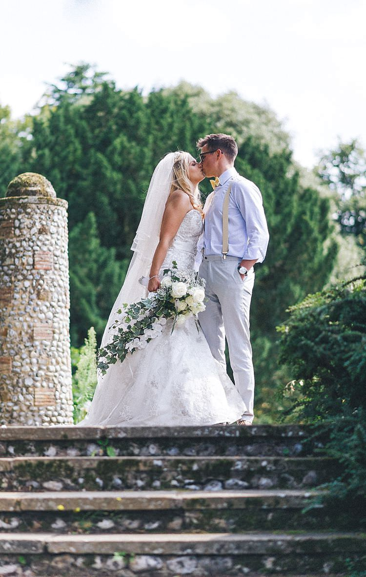 Justin Alexander Lace Fishtale Gown Dress Bride Bridal Outdoor Festival Summer Wedding http://lighteningphotography.co.uk/
