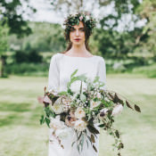 Soft & Natural Woodland Wedding Ideas