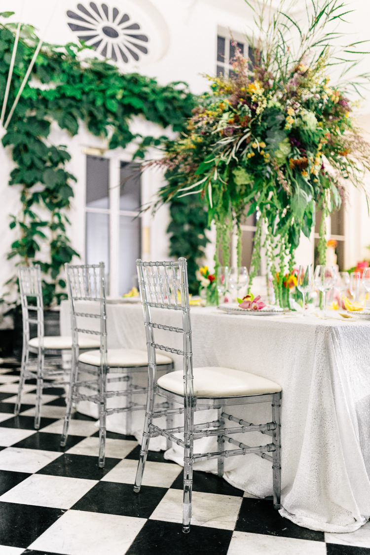 Acrylic Chairs Modern Fresh Watercolour Wedding Ideas http://www.beatriciphotography.co.uk/