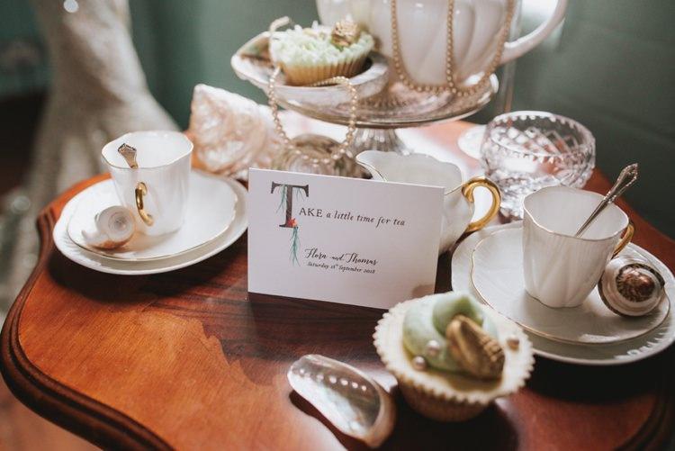 Tea Crockery Vintage Magical Fairytale Disney Wedding Ideas http://www.beckyryanphotography.co.uk/