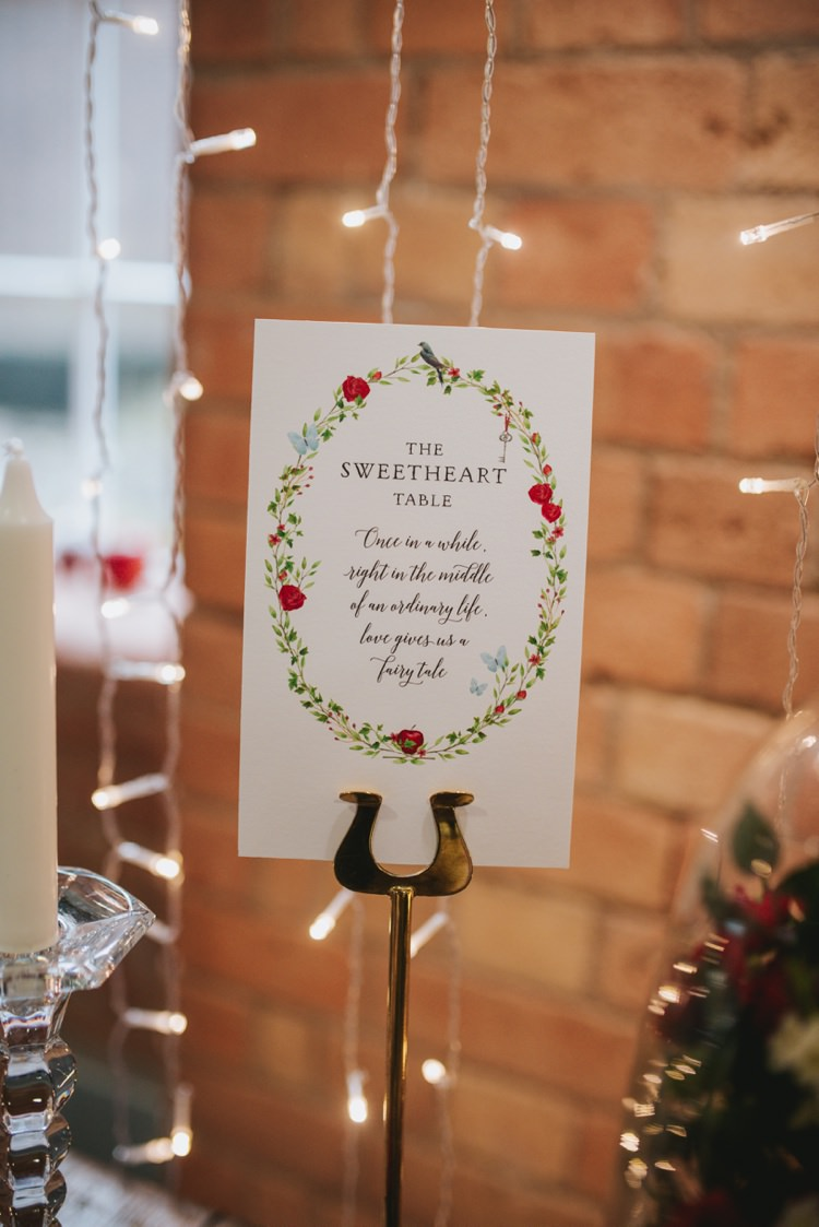 Floral Butterfly Table Name Stationery Magical Fairytale Disney Wedding Ideas http://www.beckyryanphotography.co.uk/