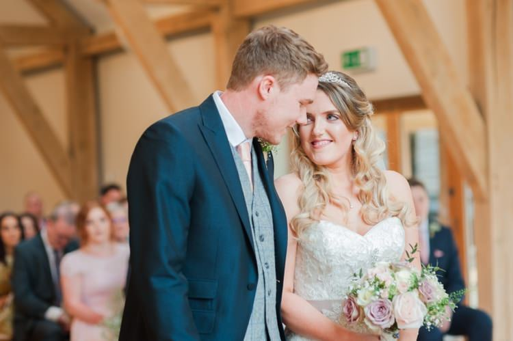 Pretty Pale Pink Country Barn Wedding http://kerriemitchell.co.uk/