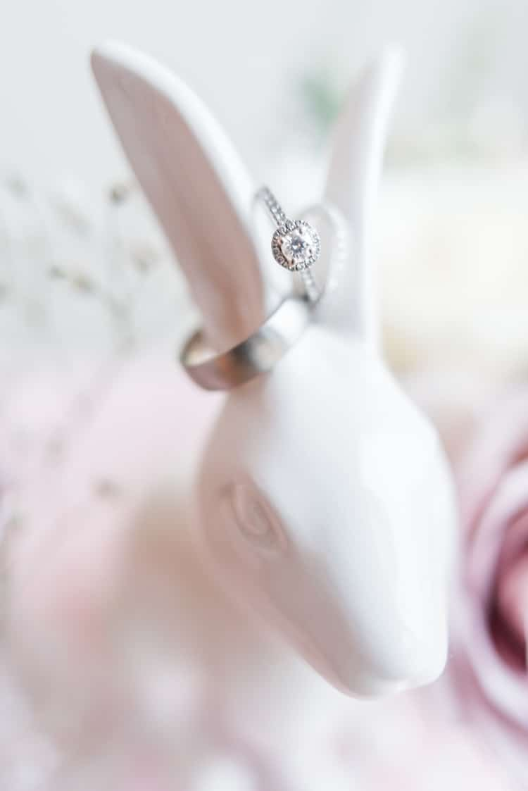 Halo Engagement Ring Diamond Bride Bridal Engaged Pretty Pale Pink Country Barn Wedding http://kerriemitchell.co.uk/